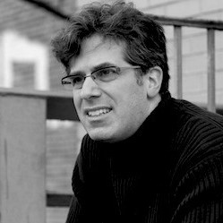 Jonathan lethem on the banks of the gowanus canal in brooklyn ny beurwh