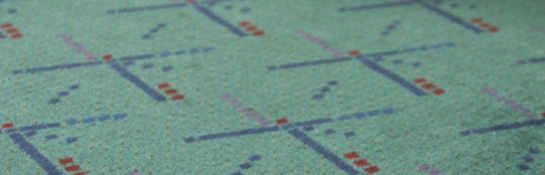 A Brief History of the PDX Airport Carpet | Portland Monthly
