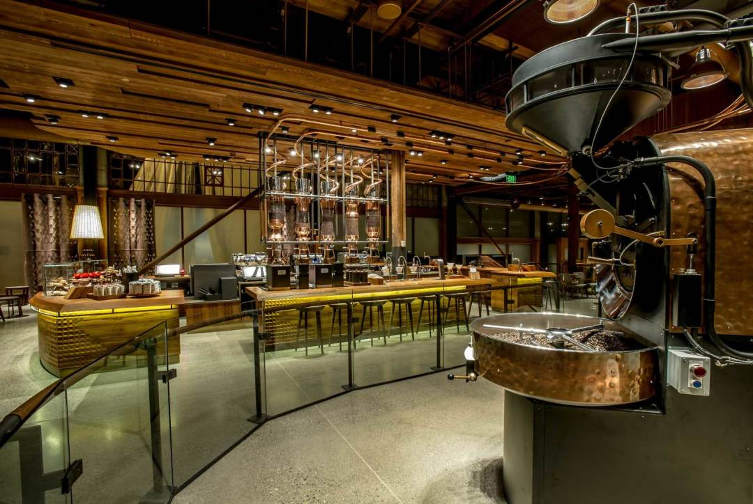 Starbucks' Reserve Roastery and Tasting Room Opens on ...