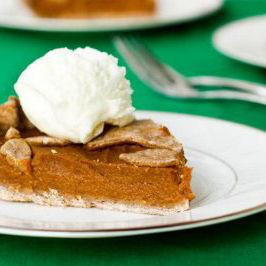 Pumpkin pie vegan ohsheglows oeejor