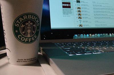 Starbucks laptop p6eoe2