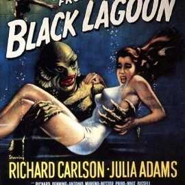 Creature from the black lagoon 270x425 w22bzv