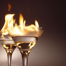 375px flaming cocktails qksbim