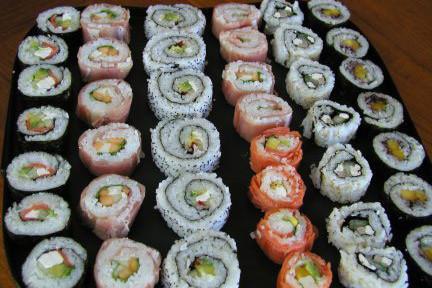American sushi nhabie