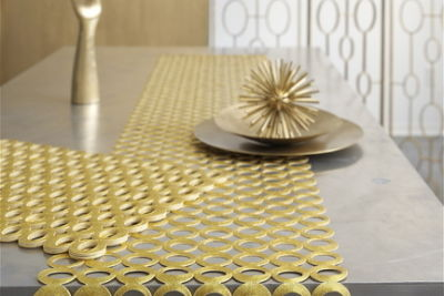 Mod placemat and runner   chilewich x9mttc