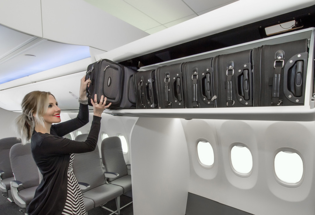 Are Airplane Overhead Compartments Getting Gasp Bigger