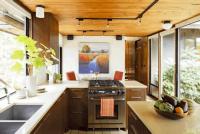 Fort House-Mosaik kitchen addition