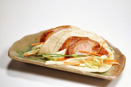 Peking duck taco chopstix ktlwuc