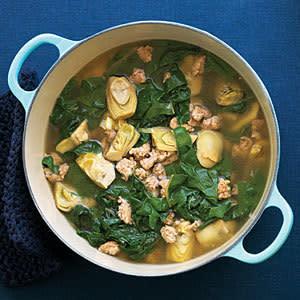 Chicken sausage soup su l napw4t