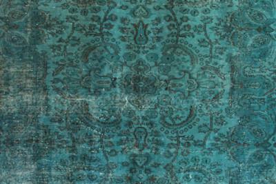 Vintage overdyed rugs k64m6g