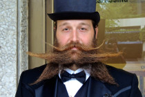 Thumbnail for - The World's Best Beards and Mustaches Compete In Portland (and Defy the Laws of Gravity)
