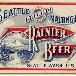 Rainier beer label seattle c.1906 d2qzjd