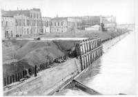 1920 Laurgaard's seawall