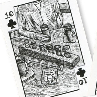 Seattle brewery playing cards rlydks