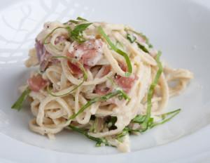Handmade pasta at Tabla