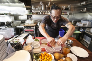Chef Aaron Woo at Natural Selection