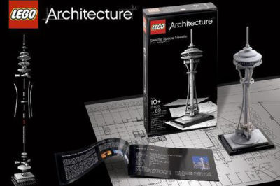 Legoarchitecture space needle set nahmly