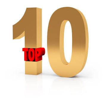 Top ten gold gkovzn