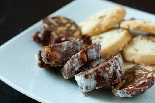 1213 olympic provisions chocolate salami 2 nu3v89