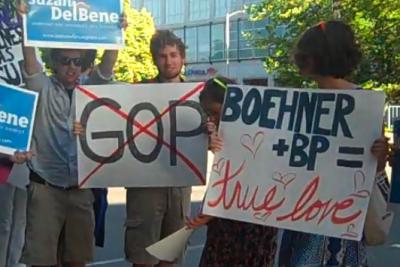 Bellevue protest lifkbp