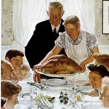 Norman rockwell thanksgiving thanksgiving 2927689 375 479 wchsu8