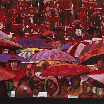 Crowd red xwbjbu