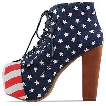 Jeffrey campbell shoes lita  stars and stripes  010603 ovjzm2