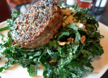 Dick's Kitchen's Kale Caesar Burger Bowl