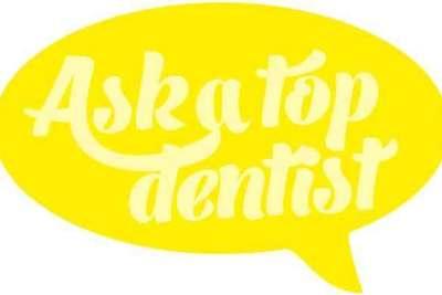 Ask a top dentist logo eiu9iu