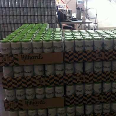 Hilliard s 12th can beer mcevjg