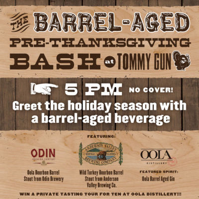 Barrel aged bash at tommy gun 400x517 uvw42u