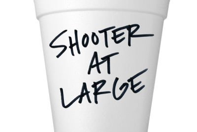 Styrofoam cup with type nwnwgw