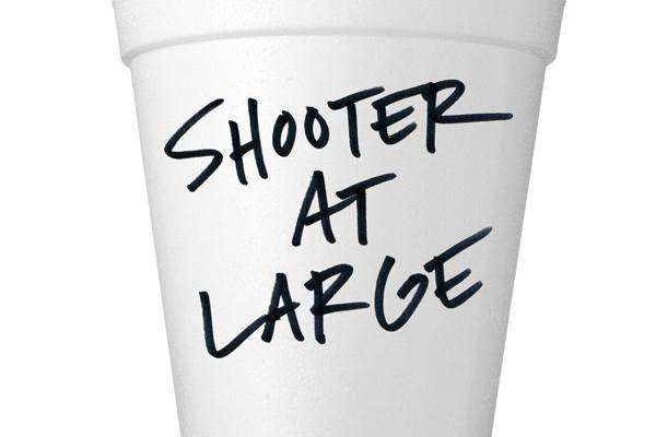 Styrofoam cup with type nwnwgw
