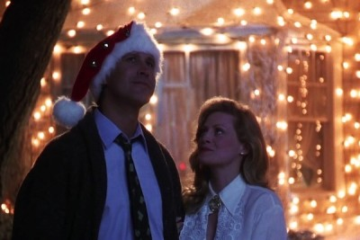 Christmas vacation chevy chase and beverly dangelo as clark and ellen griswold ulbalp