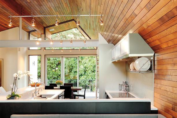 Couches and kitchen onjlga