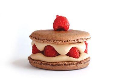 Dessert houstonian chocolate macaron qju0wm
