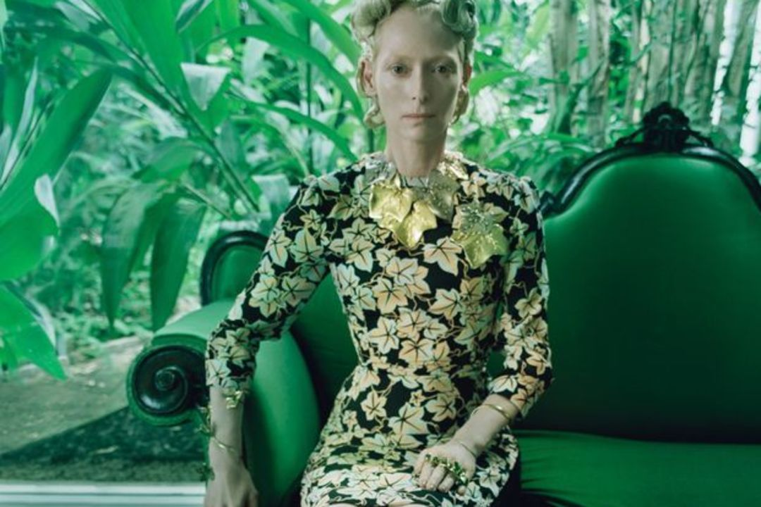 tilda swinton and w magazine s surreal fashion at the