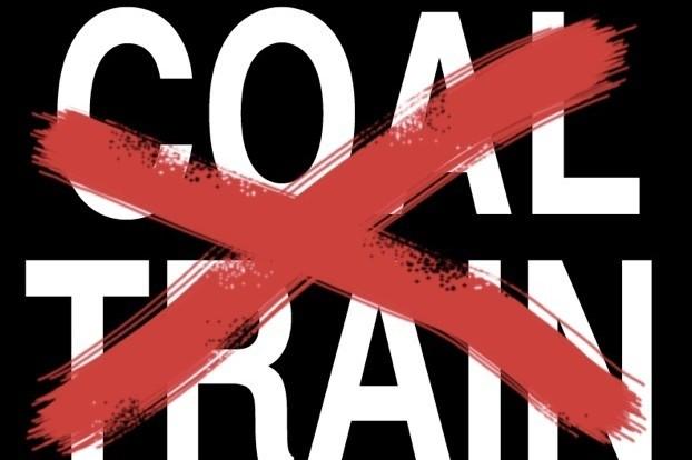 Coal train yard sign art wyg0zl