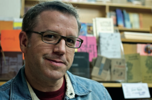 Local novelist and indie publisher Kevin Sampsell