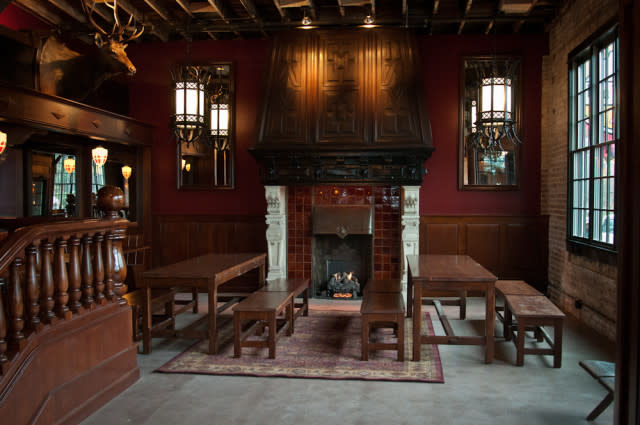 Seattle Fireplace Bars And Restaurants Seattle Restaurants