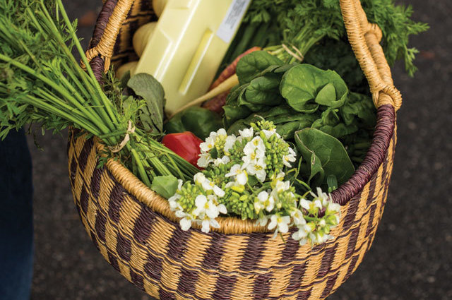 0314 food lovers guide farmers market basket of vegetables jcmlzn
