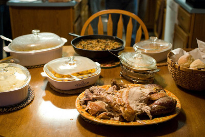 Thanksgiving dinner qyucaw
