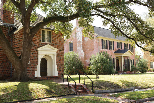Riverside Terrace, once the Jewish and then the African-American River Oaks, is filled with historic homes.