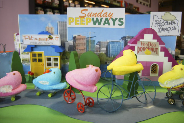Get crafty with Hattie's annual Peeps diorama contest!