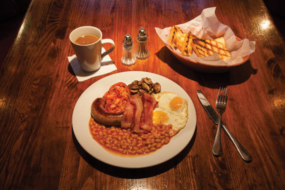Houstons Best Pub Breakfasts Houstonia