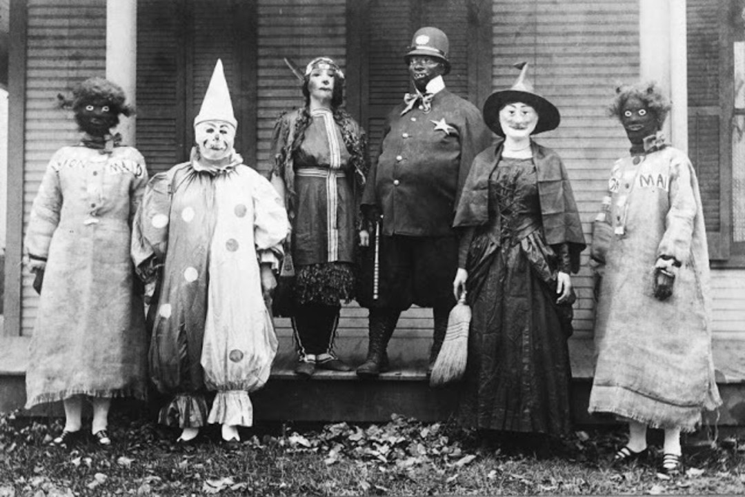 image womenspostca - Old Fashion Halloween