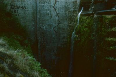 Elwha dam graffiti xnault