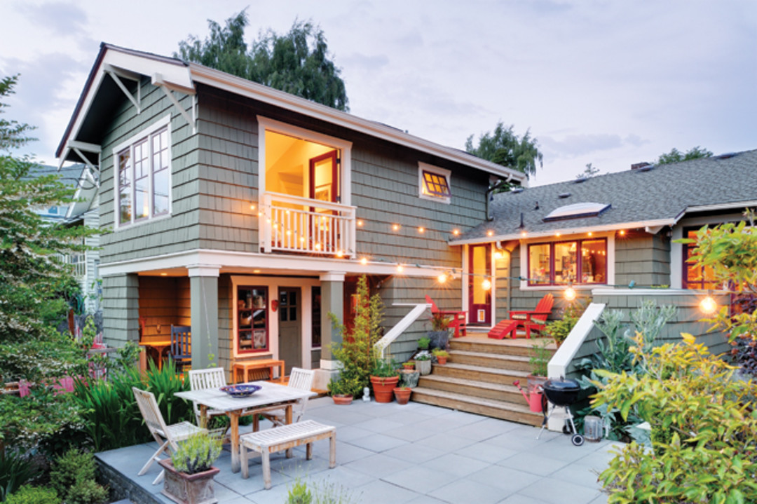 A west seattle remodel adds a new master suite seattle met for Small home addition ideas