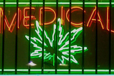 Medical marijuana sign ltbdtk