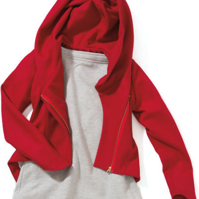 Sarsen red wool jacket eejrm1
